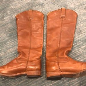 Tall Brown Leather Dolce Vita Boots